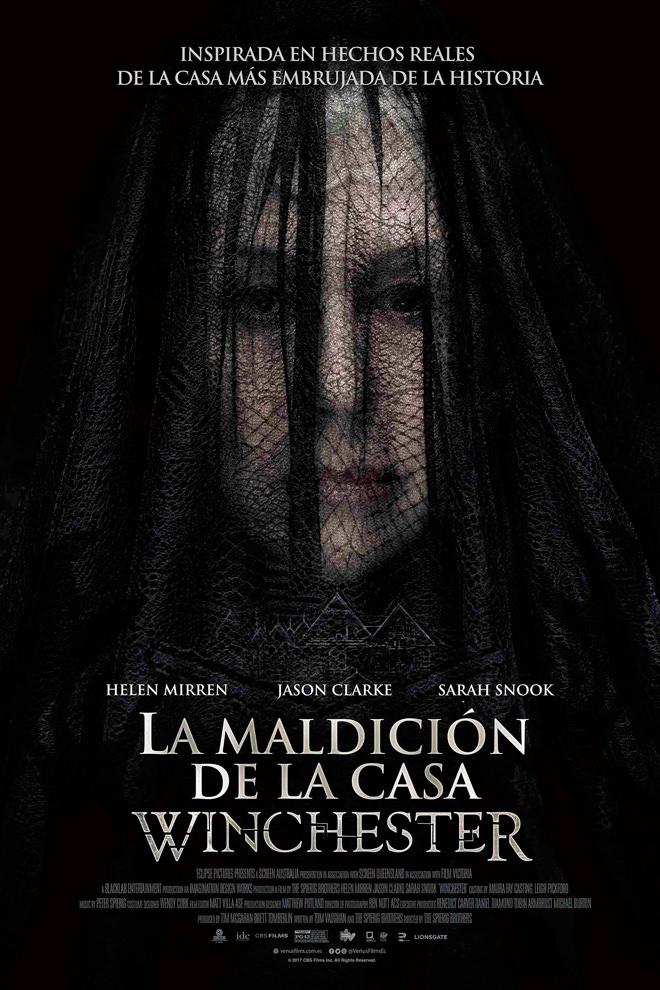 Poster De La Pel 237 Cula La Maldici 243 N De La Casa Winchester