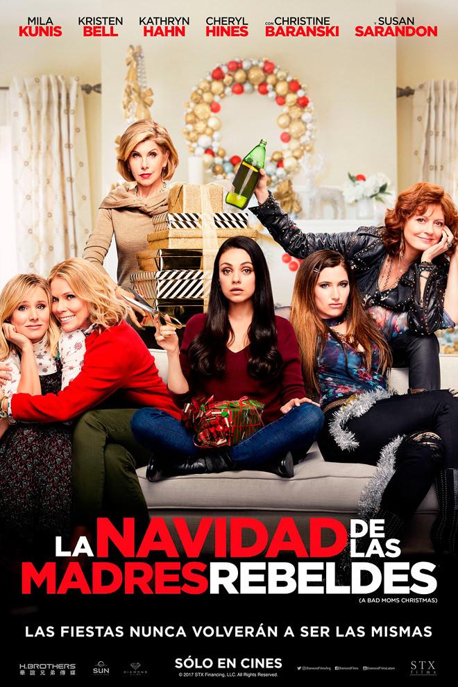Poster de la Película: La Navidad de las Madres Rebeldes