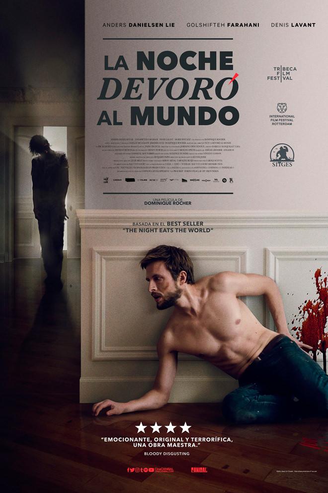 Poster de la Película: La Última Noche Cuando Ellos Devoraron el Mundo