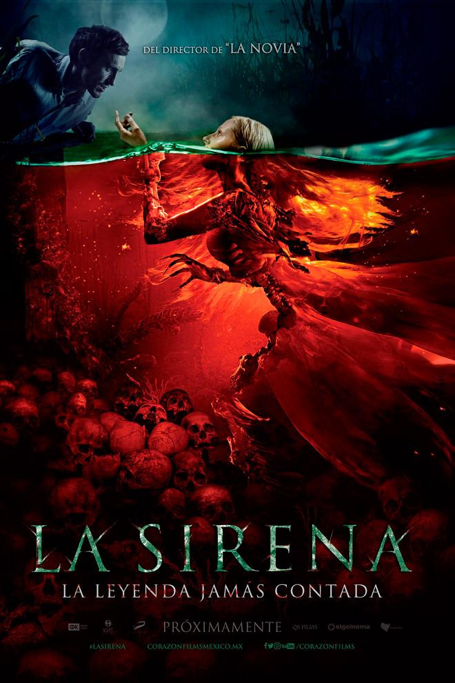 Poster de la Película: La Sirena: La Leyenda Jamás Contada