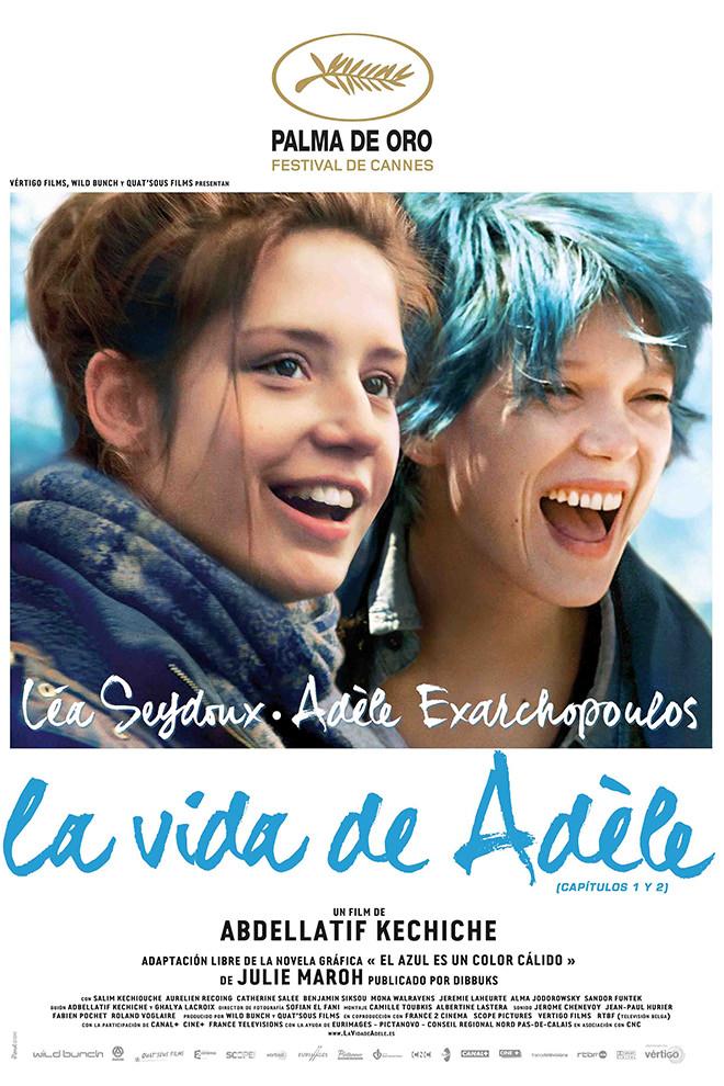 Poster de la Película: La Vida de Adèle