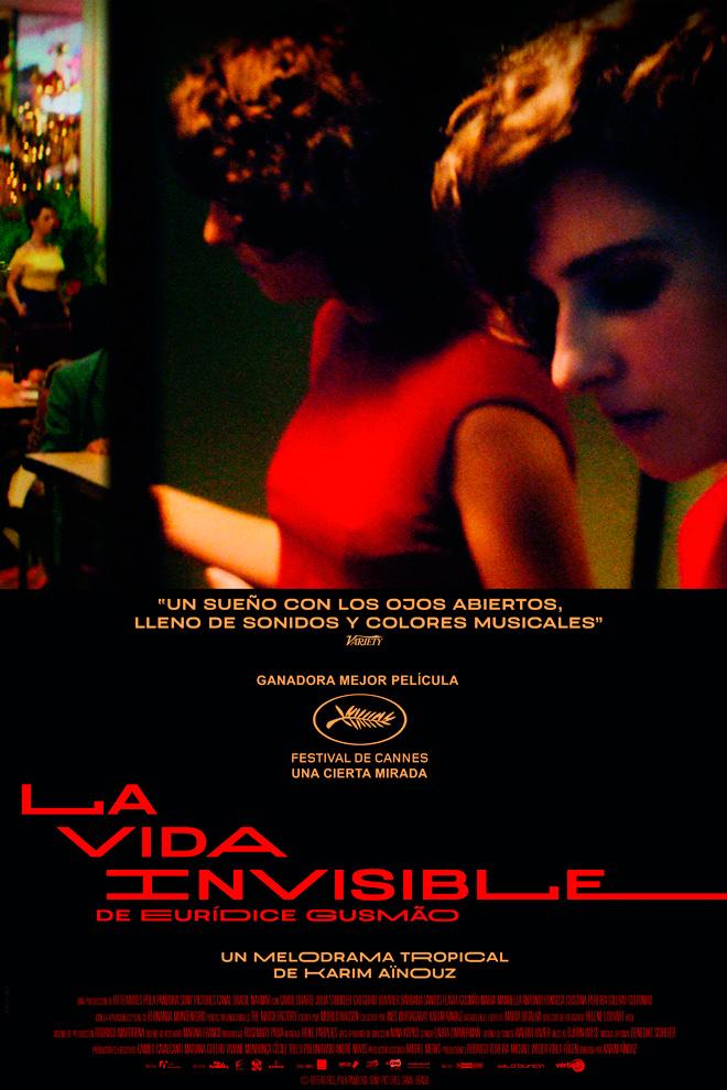 Poster de la Película: La Vida Invisible de Eurídice Gusmão