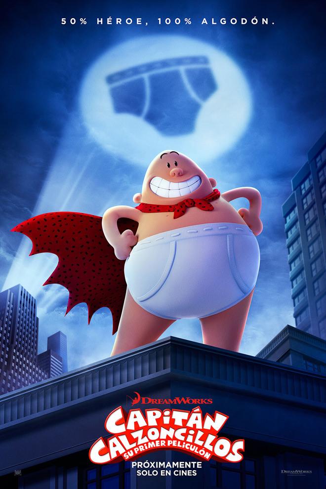 Poster de la Película: Captain Underpants: The First Epic Movie