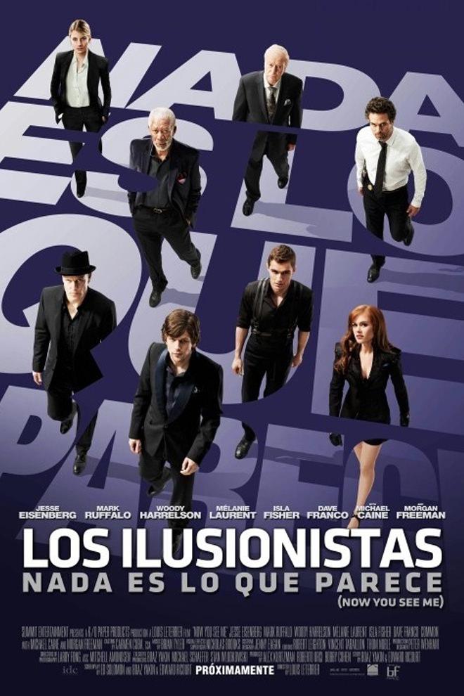Poster De La Pel 237 Cula Los Ilusionistas Nada Es Lo Que Parece