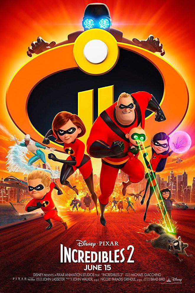Poster de la Película: Los Increíbles 2
