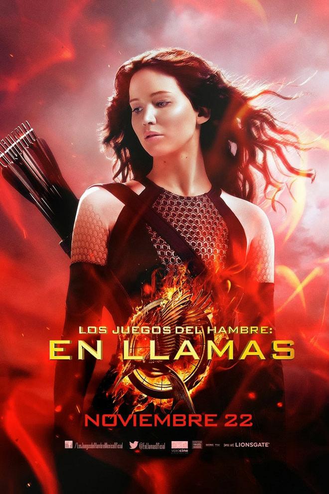 Poster de la Película: Los Juegos del Hambre: En Llamas