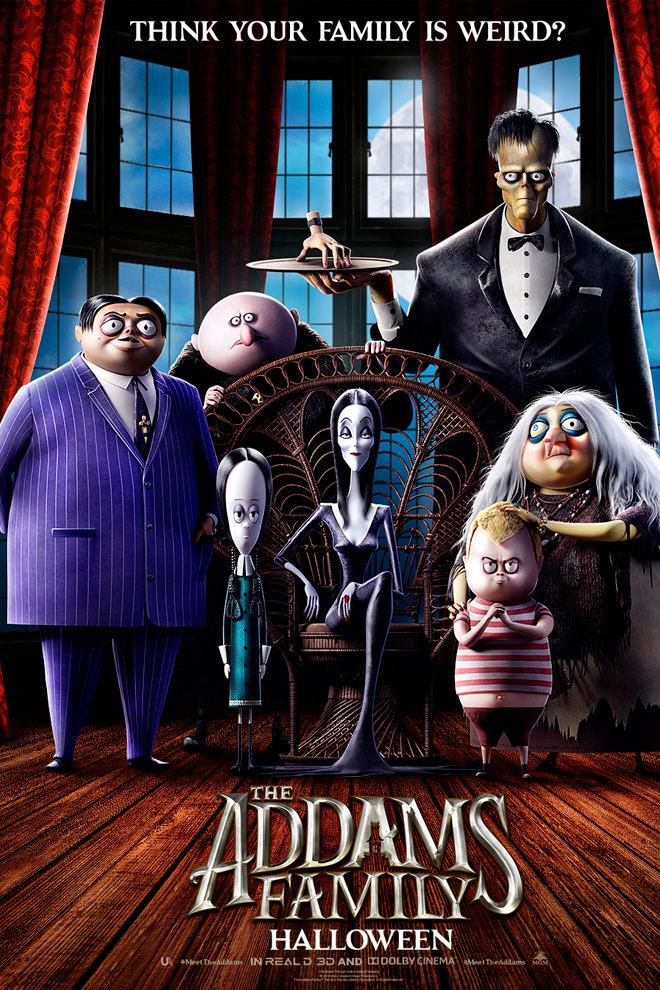 Poster de la Película: Los Locos Addams (2019)