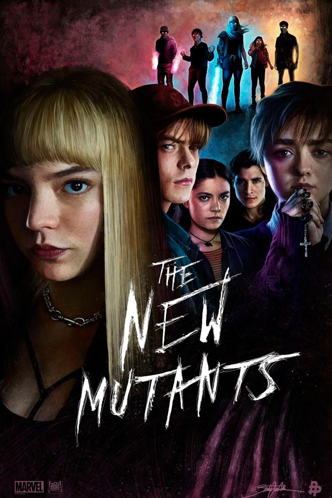 Poster de la Película: Los Nuevos Mutantes
