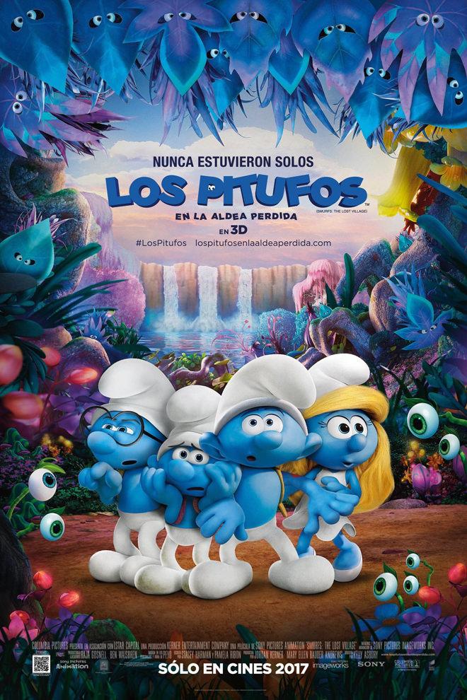 Poster de la Película: Los Pitufos: En la Aldea Perdida
