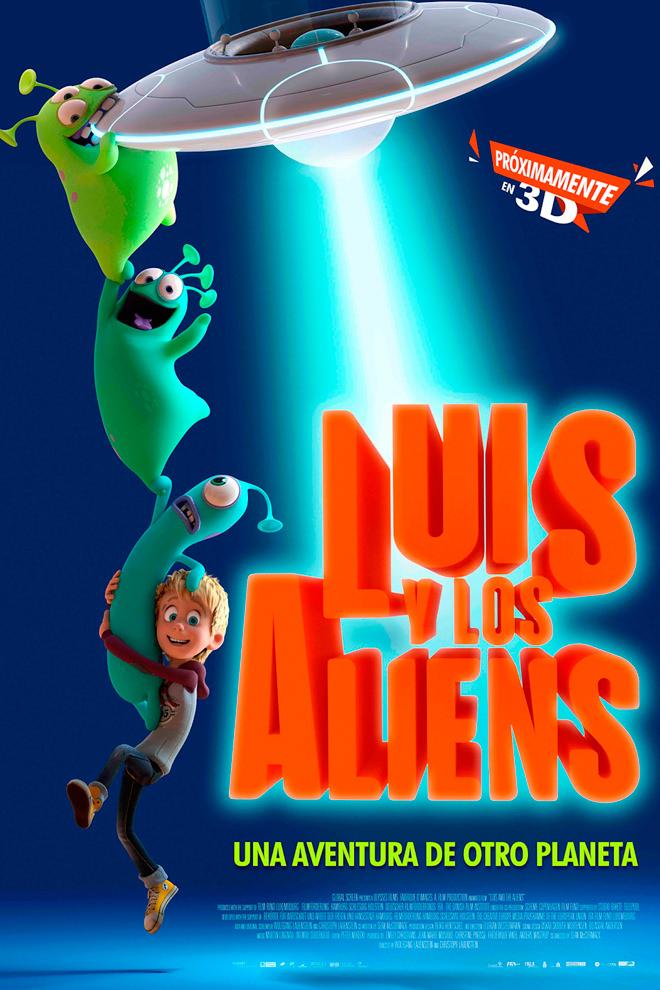 Poster de la Película: Luis y los Aliens