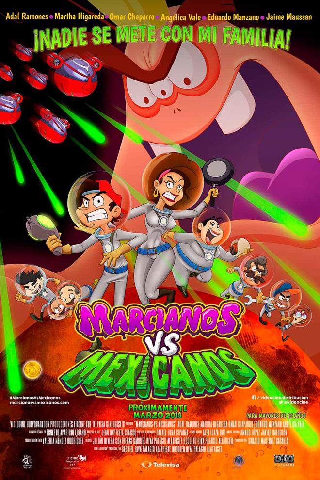 Poster de la Película: Marcianos vs. Mexicanos