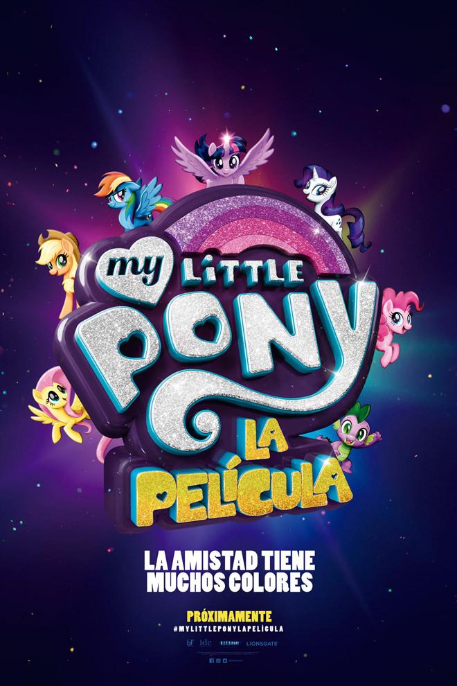 Poster De La Pel 237 Cula My Little Pony La Pel 237 Cula 2017