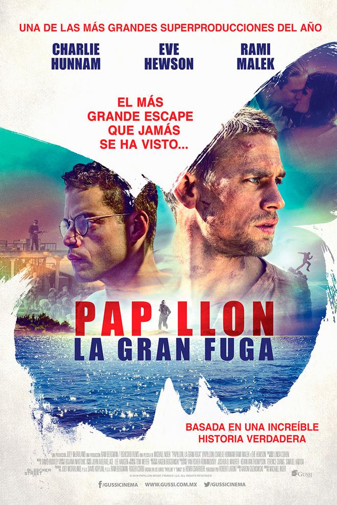 Poster De La Pel 237 Cula Papillon La Gran Fuga