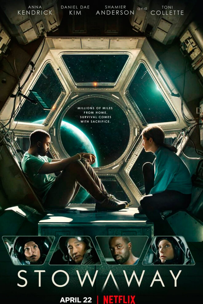 Poster de la Película: Stowaway (2021)