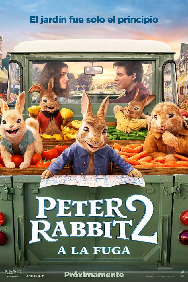 Poster de la Película: Peter Rabbit 2: Conejo en Fuga
