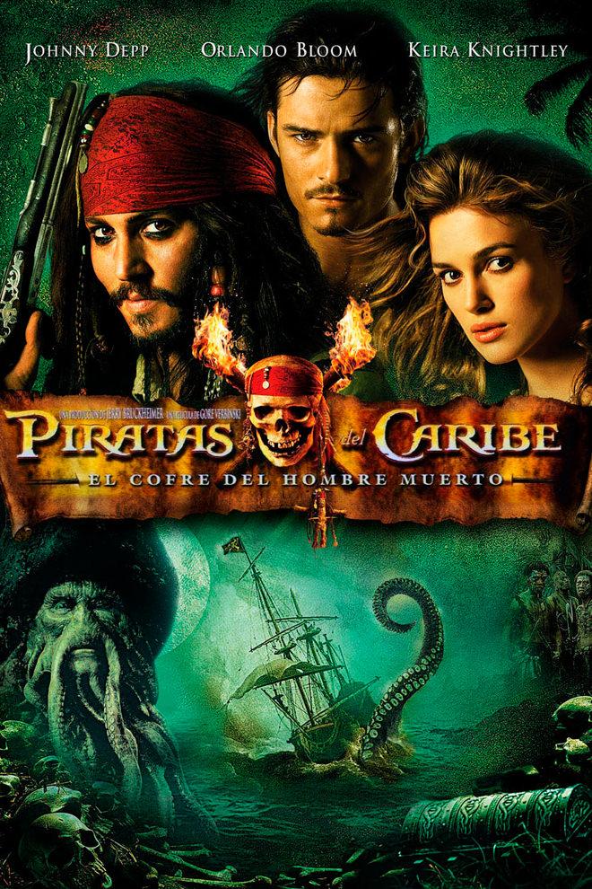 Poster de la Película: Piratas del Caribe: El Cofre del Hombre Muerto
