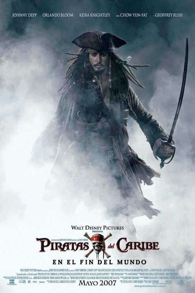 Poster de la pel cula piratas del caribe 3 for El mural pelicula argentina