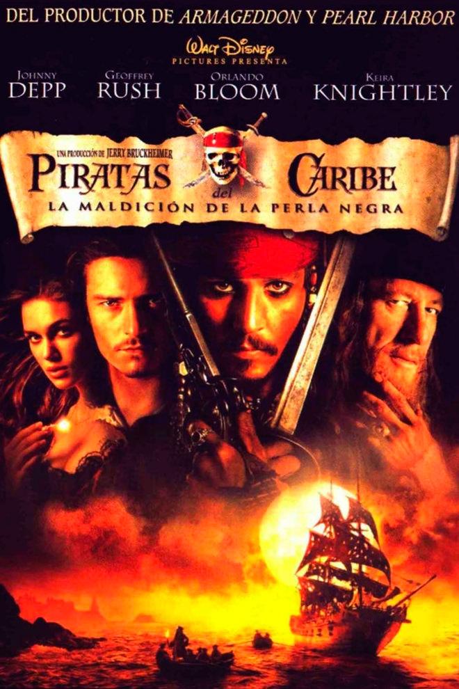 Poster de la Película: Pirates of the Caribbean