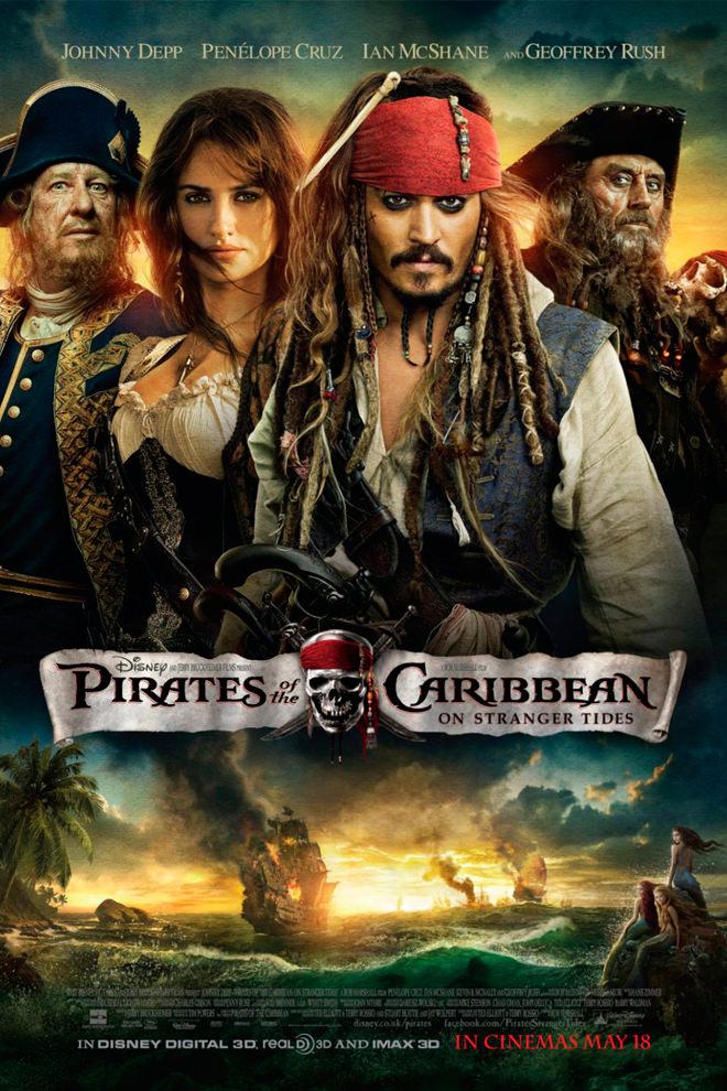 Poster de la Película: Piratas del Caribe: En Mareas Misteriosas