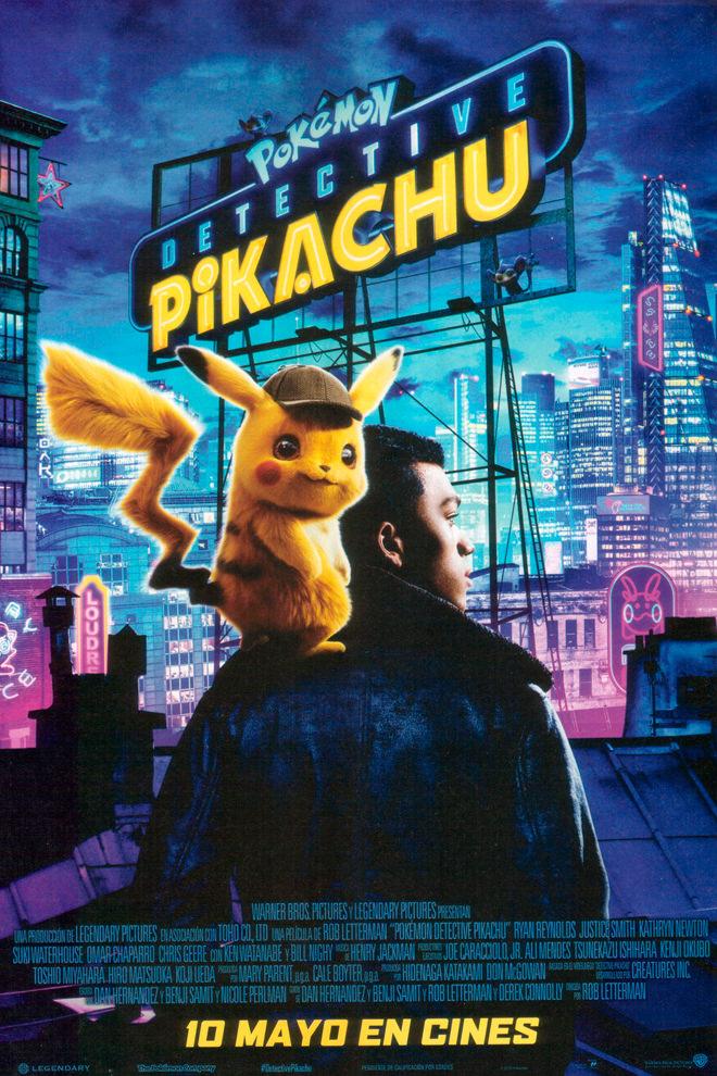 Poster de la Película: Pokémon Detective Pikachu