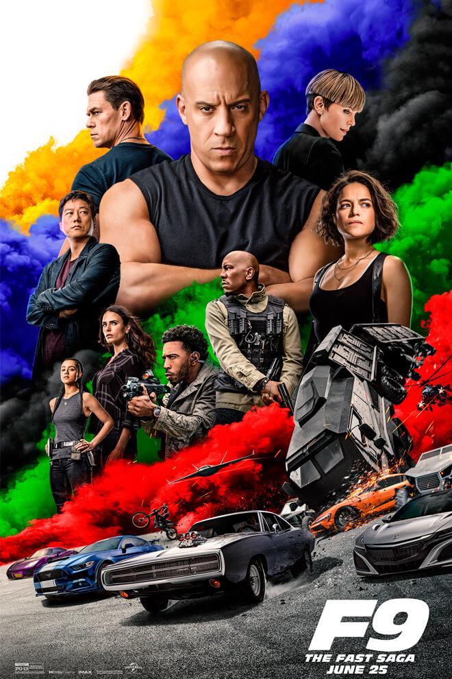 Poster de la Película: Rápidos y Furiosos 9