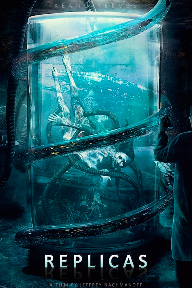 Poster de la Película: Replicas (2018)