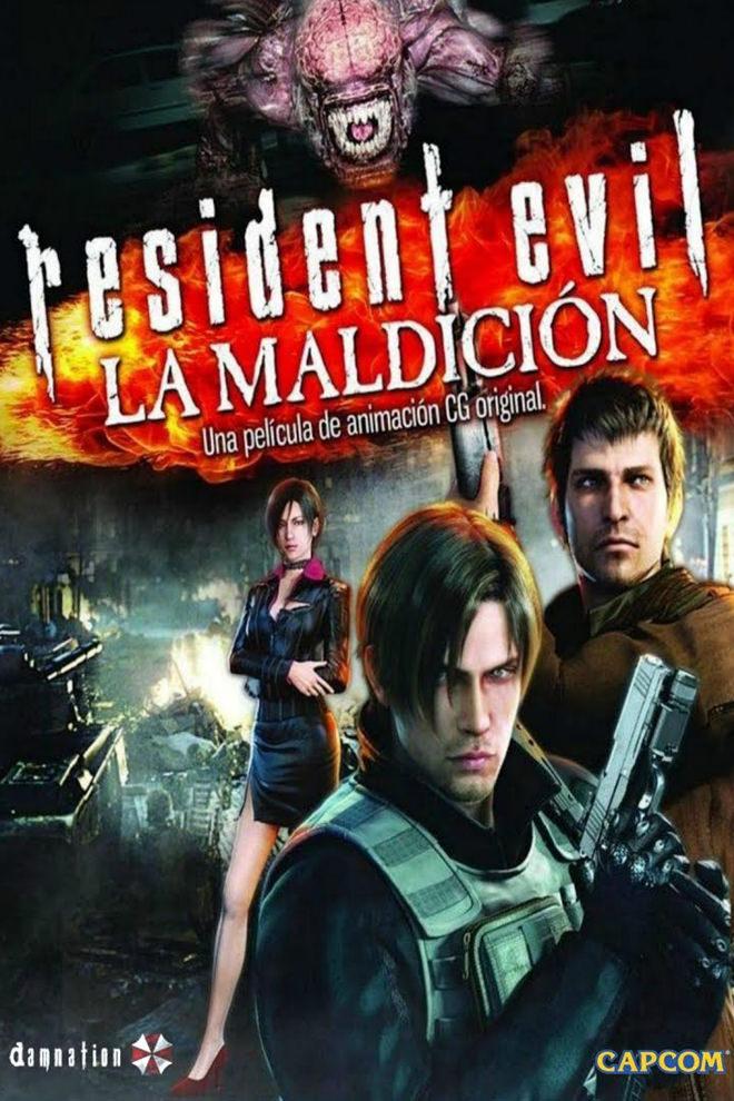 Poster de la Película: Resident Evil: La Maldición