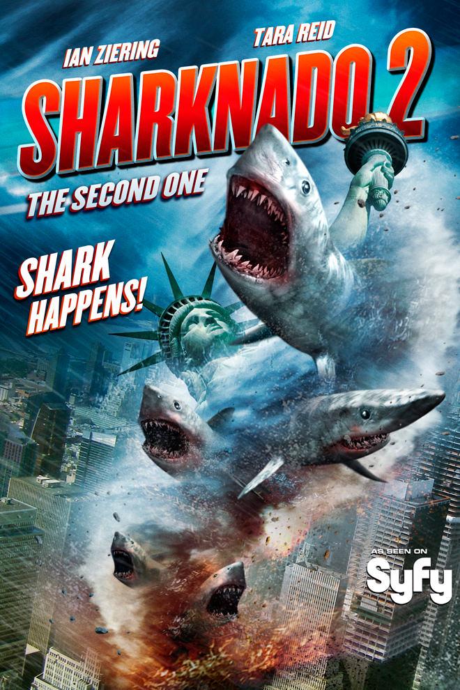 Poster de la Película: Sharknado 2: The Second One