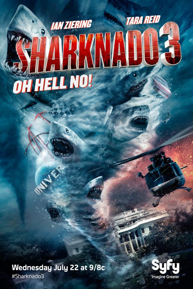 Poster de la Película: Sharknado 3: Oh Hell No!