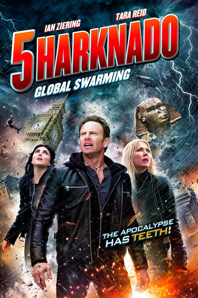 Poster de la Película: Sharknado V