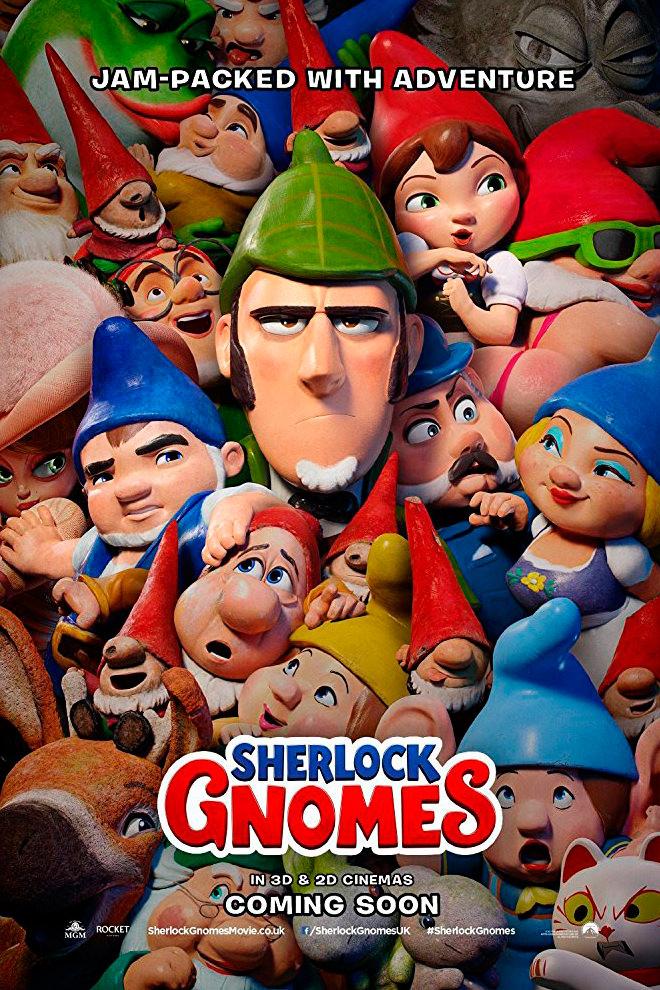 Poster de la Película: Sherlock Gnomes