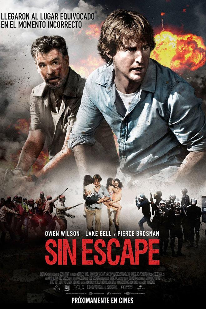 Poster de la Película: Sin Escape