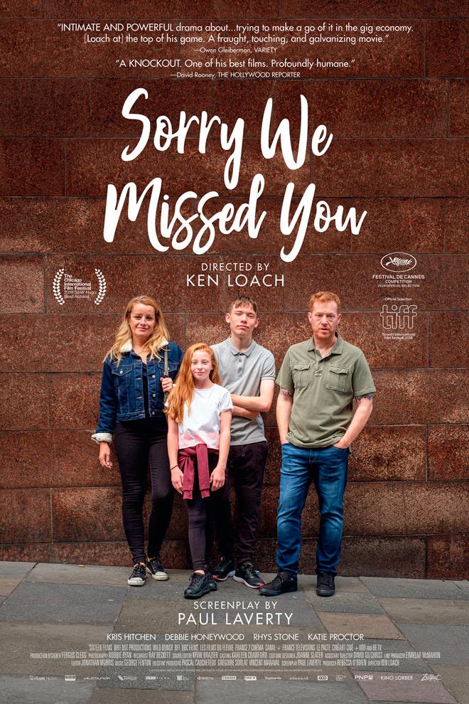 Poster de la Película: Sorry We Missed You