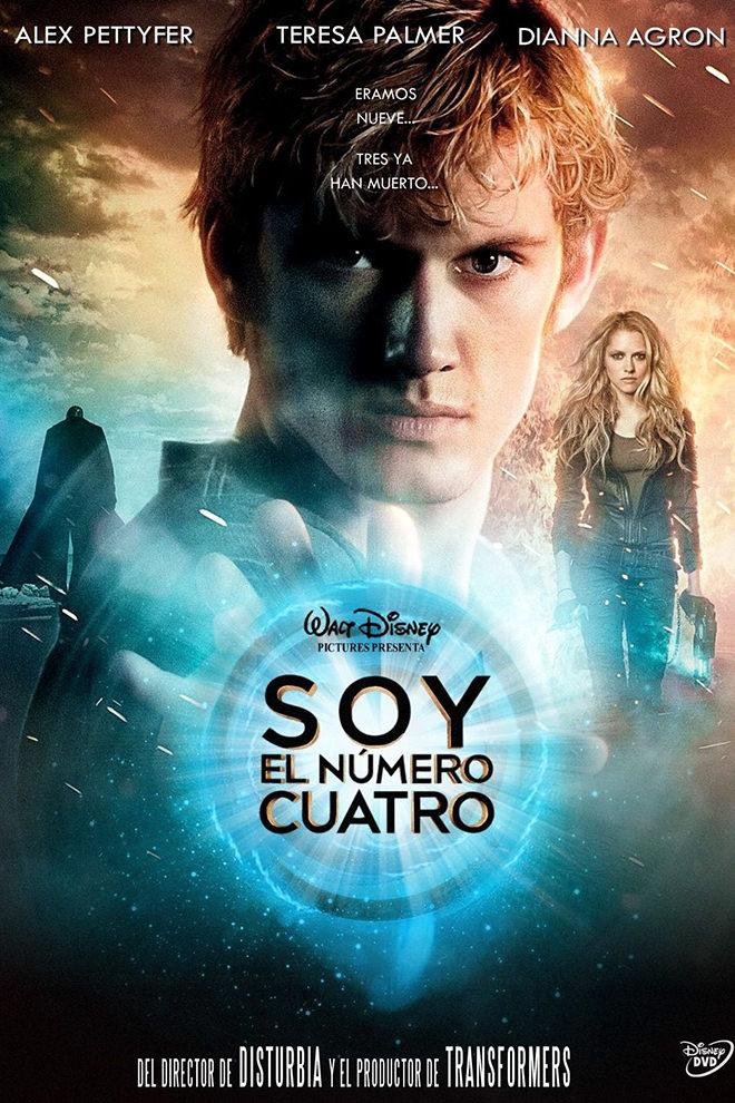 Poster de la Película: Soy el Número Cuatro