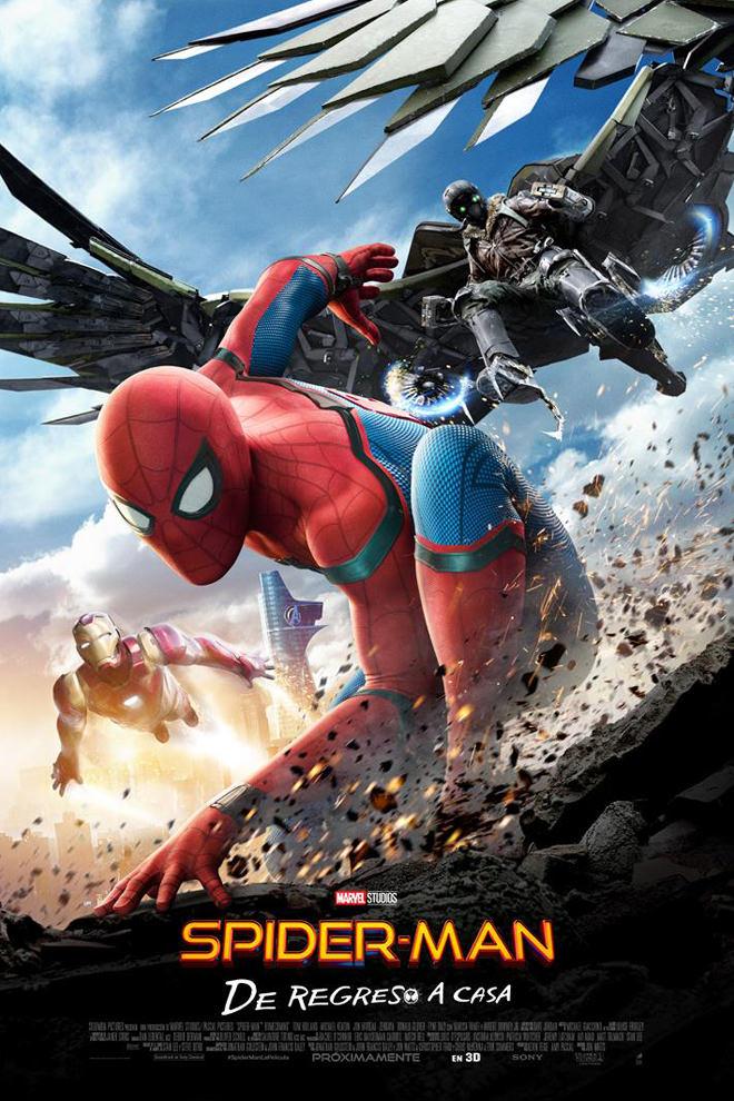 Poster de la Película: Spider-Man: De Regreso a Casa