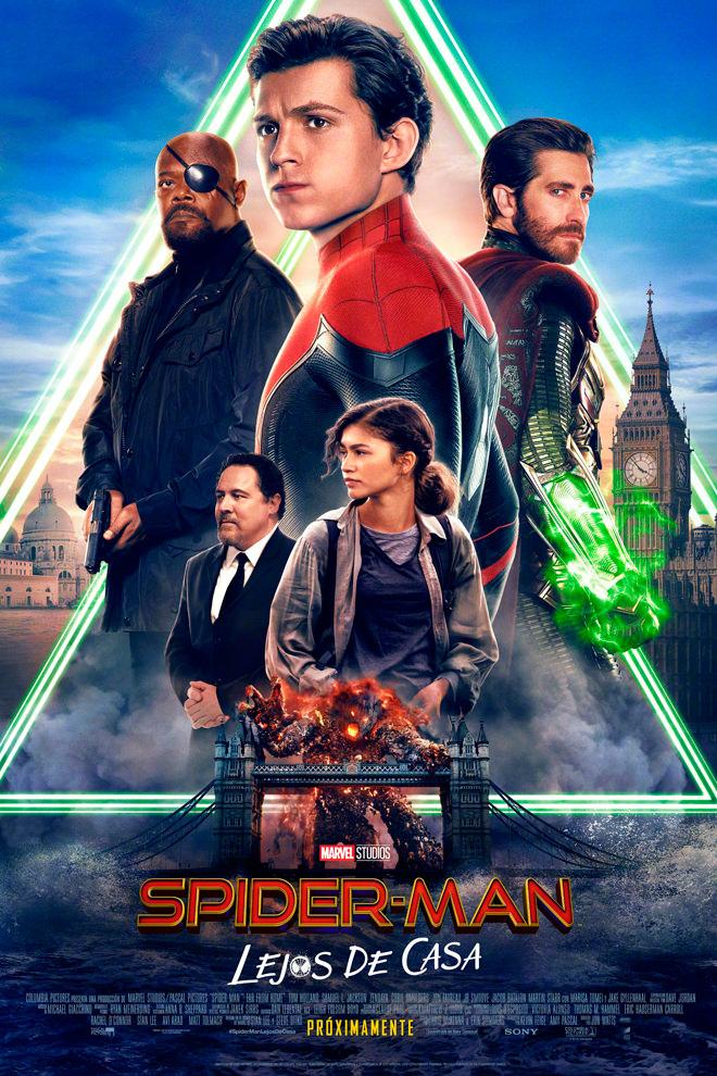 Poster de la Película: Spider-Man: Lejos de Casa
