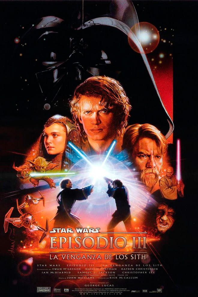 Poster de la Película: Star Wars: Episode III