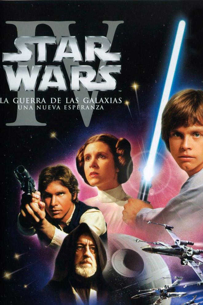 Poster de la Película: La Guerra de las Galaxias: Episodio 4