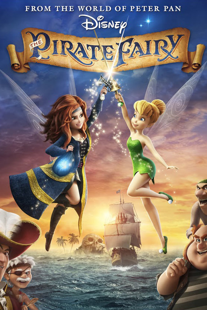 Poster De La Pel 237 Cula Tinker Bell Hadas Y Piratas
