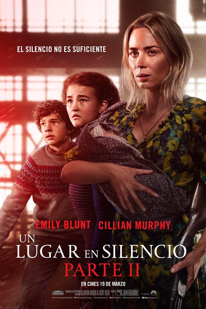 Poster de la Película: Un lugar en silencio Parte II