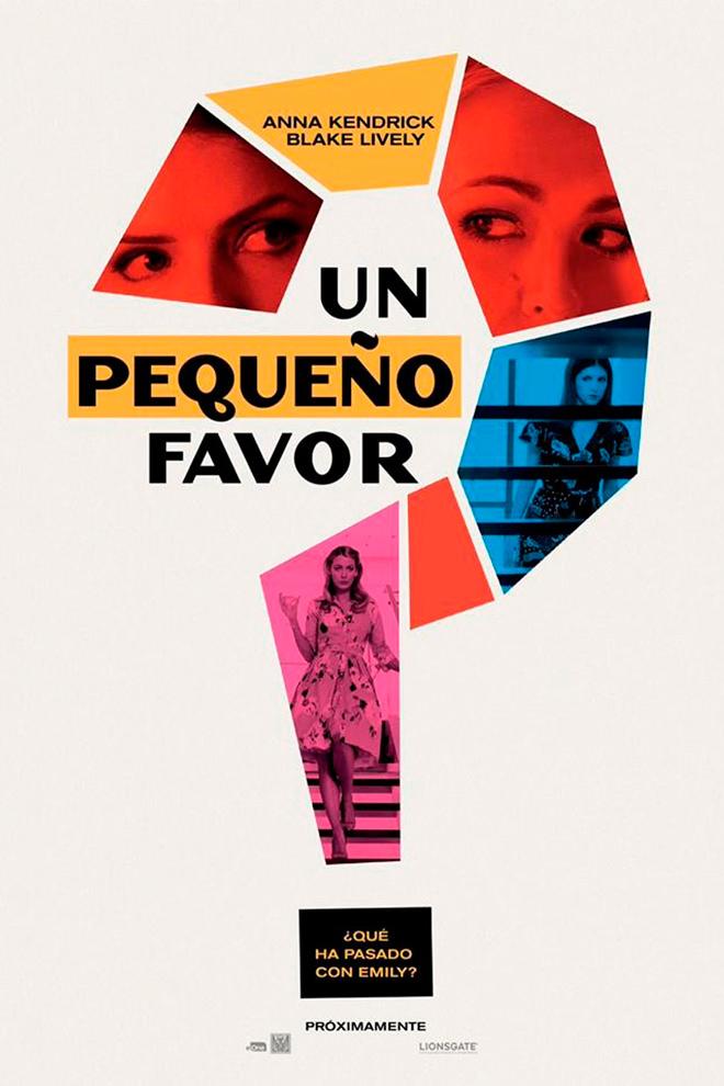 Poster de la Película: Un Pequeño Favor