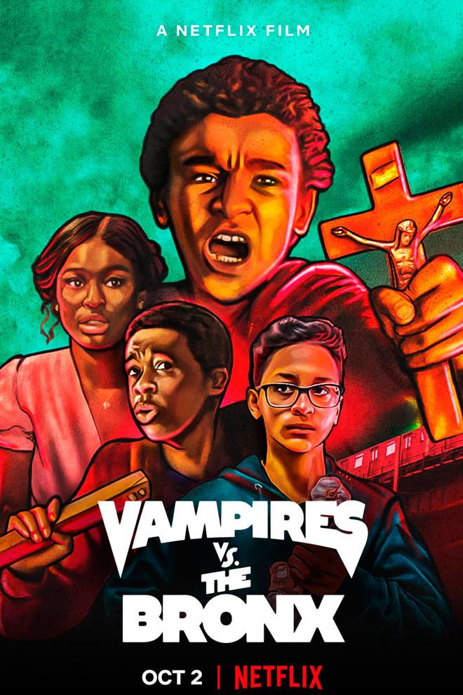 Poster de la Película: Vampires vs. the Bronx