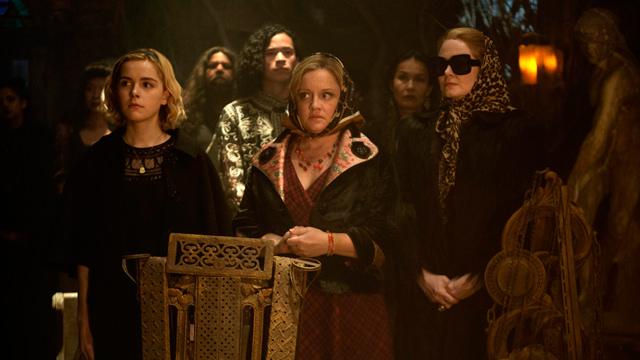 En una Reunión de Brujería
