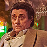 Ian McShane en el papel de Mr. Wednesday