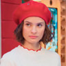 Agustina Palma en el papel de Celeste Quinterro