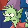 Nat Faxon en el papel de Elfo