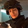 Rosario Dawson en el papel de Bridget Meyer