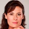 Katherine Vélez en el papel de Isabel Cristina Marín