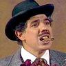 Rubén Aguirre en el papel de Profesor Jirafales
