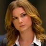 Emily VanCamp en el papel de Sharon Carter / Agent 13